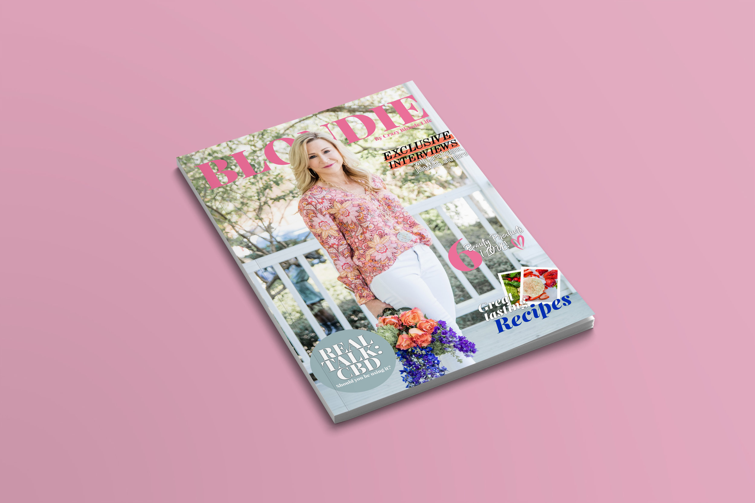 Blondie The Magazine by Crazy Blonde Life