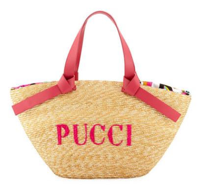 Logo Beach Tote Bag - Emilio Pucci