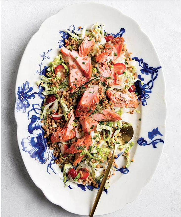 Salmon & Fennel Dinner Salad