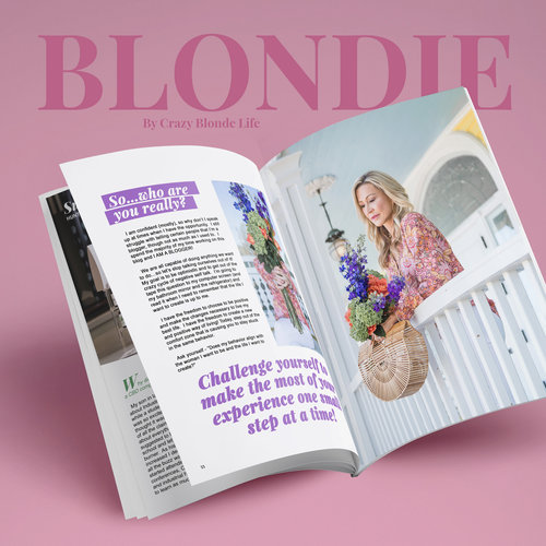 BLONDIE, by Crazy Blonde Life