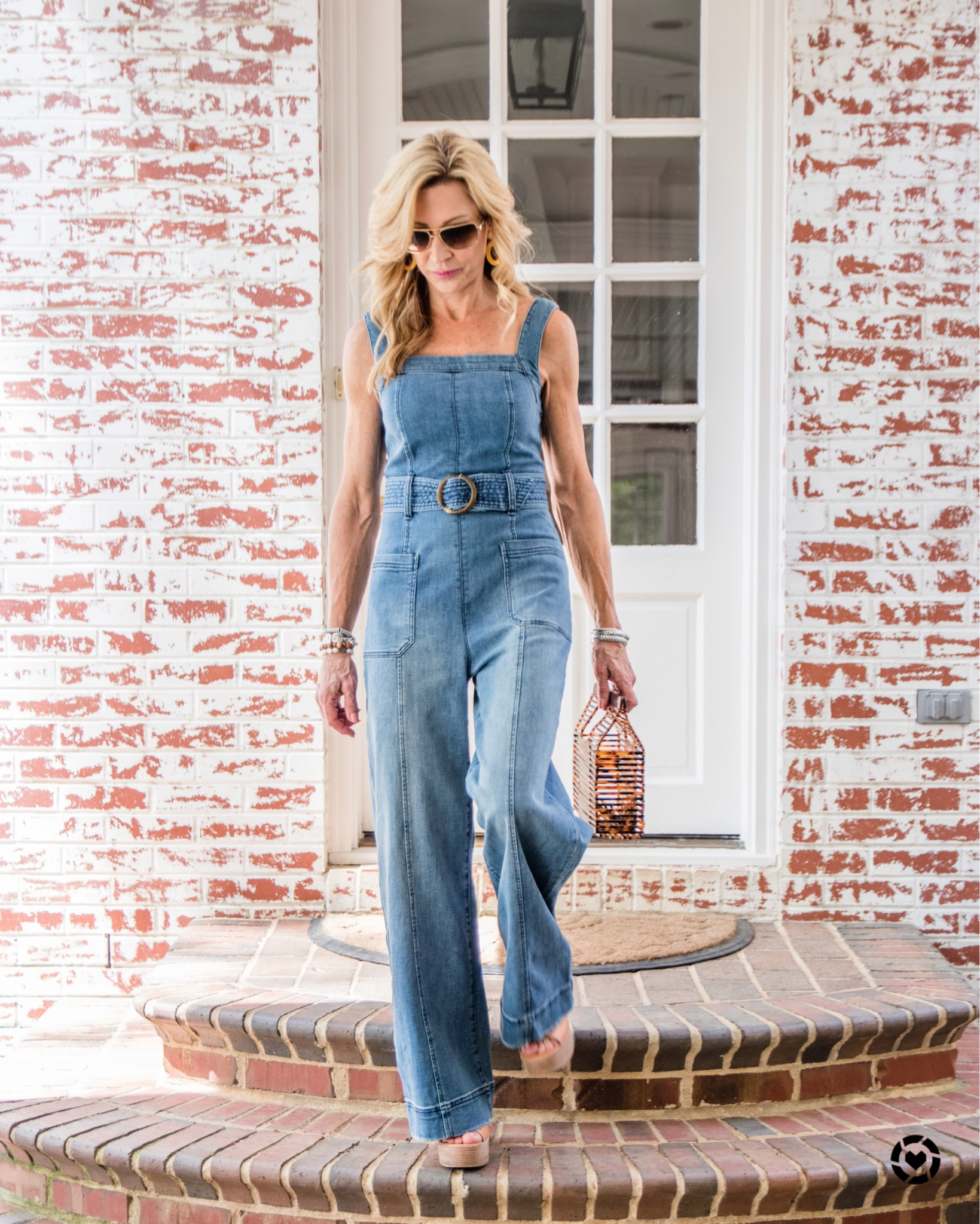 Anthropologie Denim Jumpsuit - Crazy Blonde Life