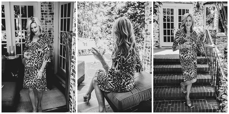 Julie Mile's Cheetah Dress - Crazy Blonde Style
