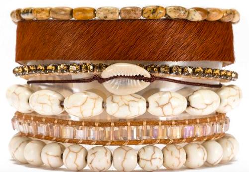 Victoria Emmerson Shell Bracelet - $49.00