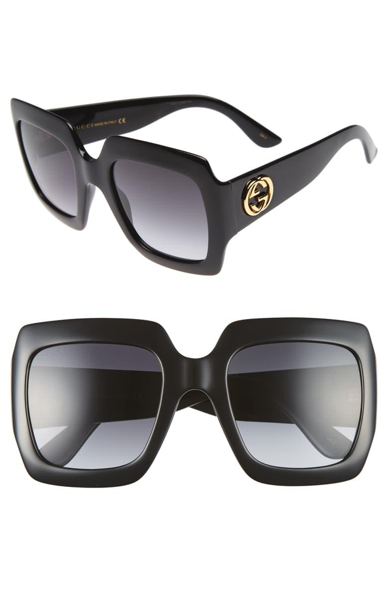 Gucci Square Sunglasses - I love huge sunglasses in the summer!