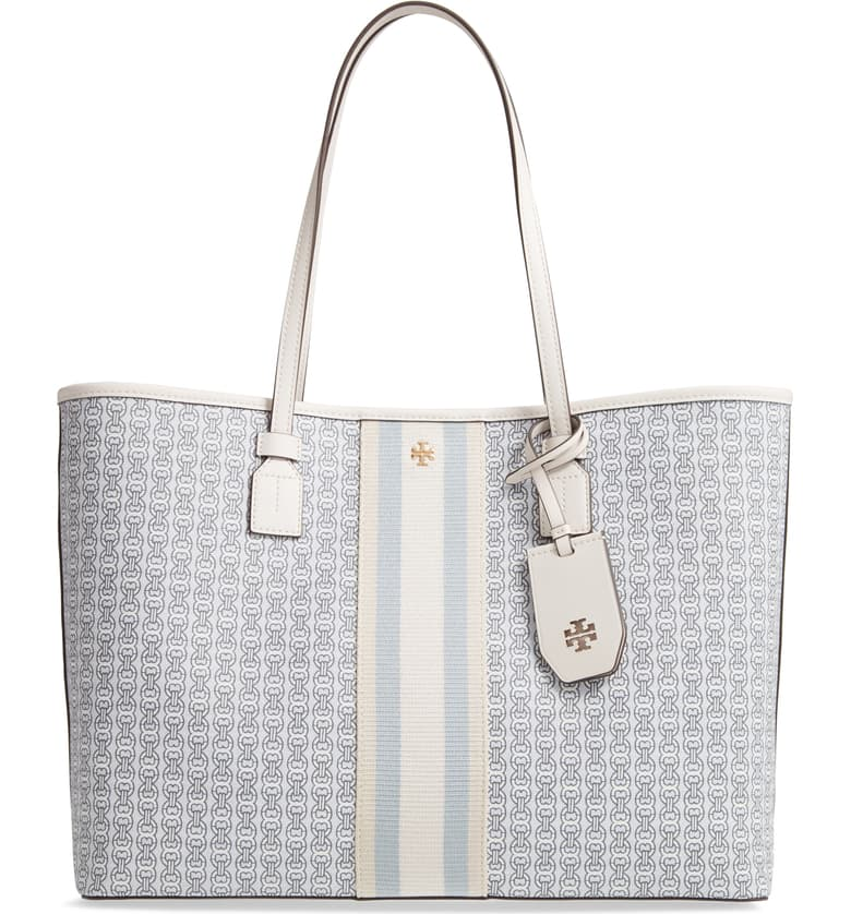 Tory Burch Coated Canvas Tote -