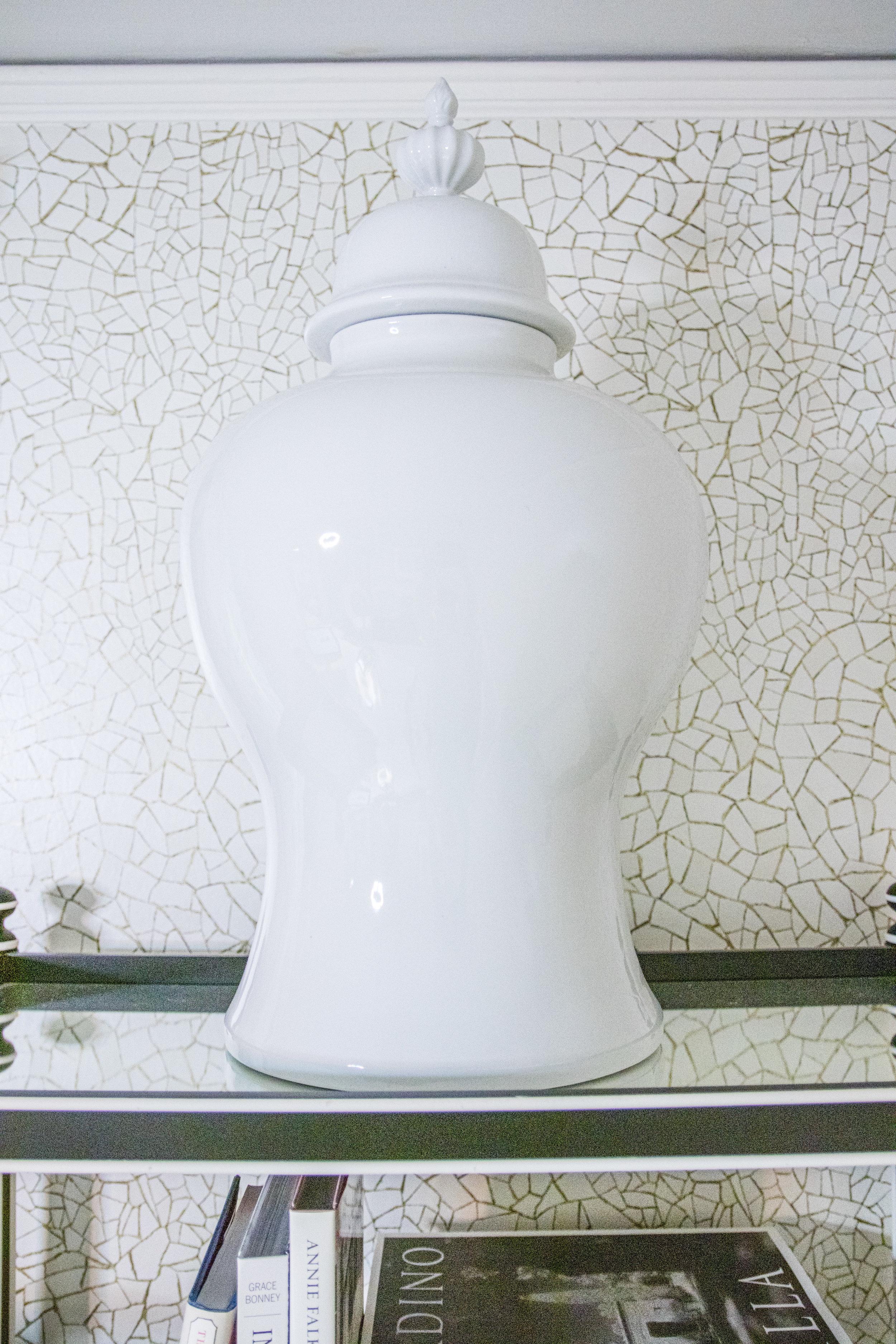 Decorative Ginger Jar - Crazy Blonde Life