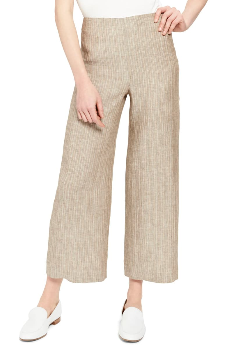 Theory Wide Leg Linen Pants - 25% off