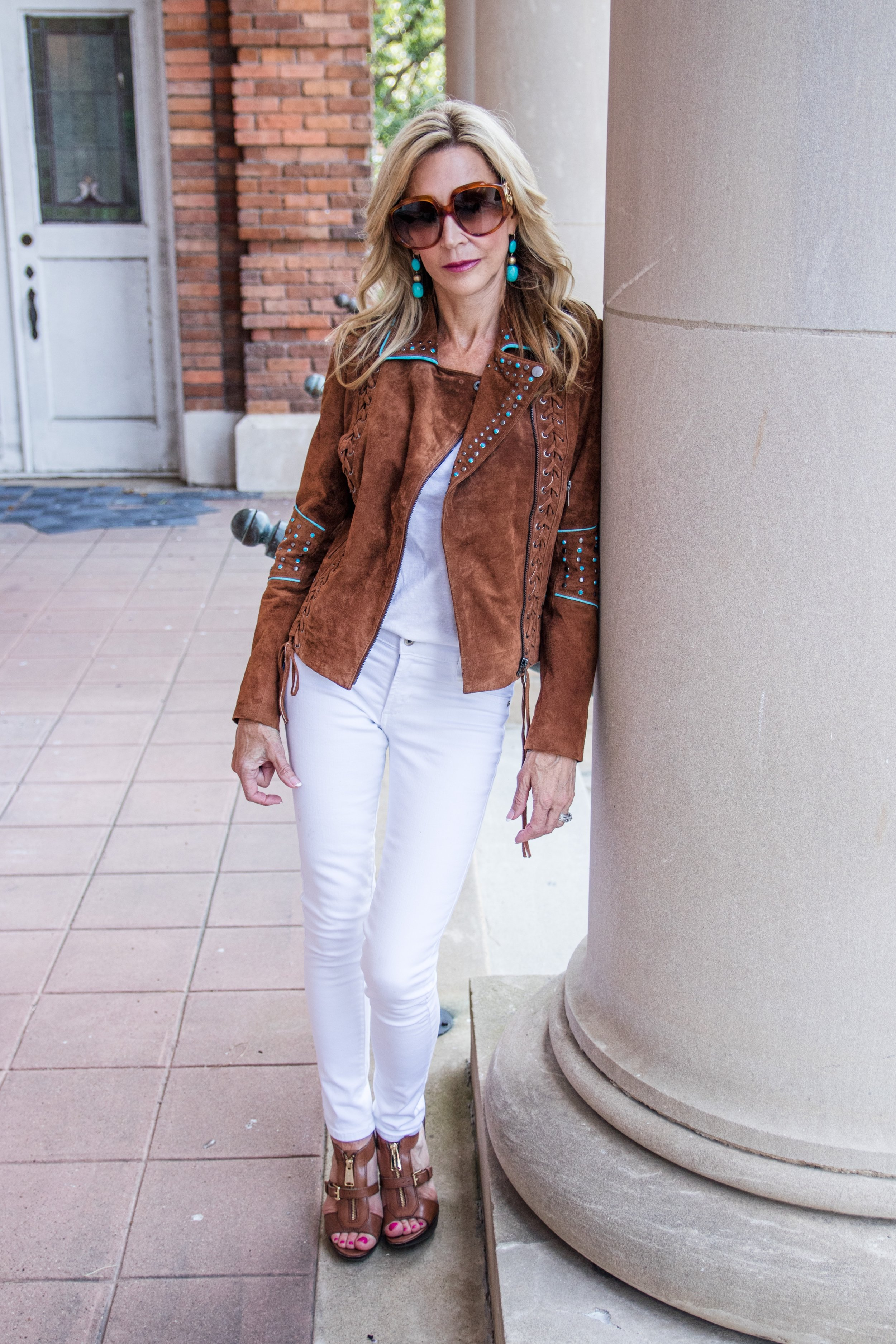 Boston Proper Suede Jacket - Crazy Blonde Life