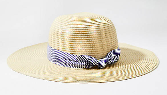 Loft Floppy Straw Hat - $20