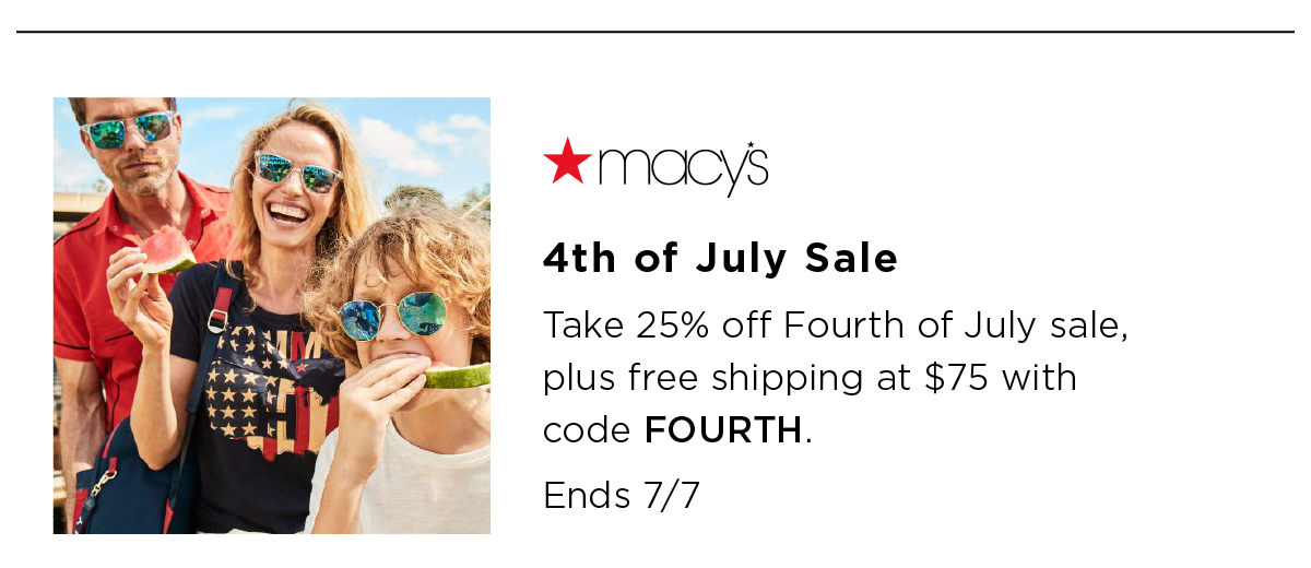 July 4th Sales
