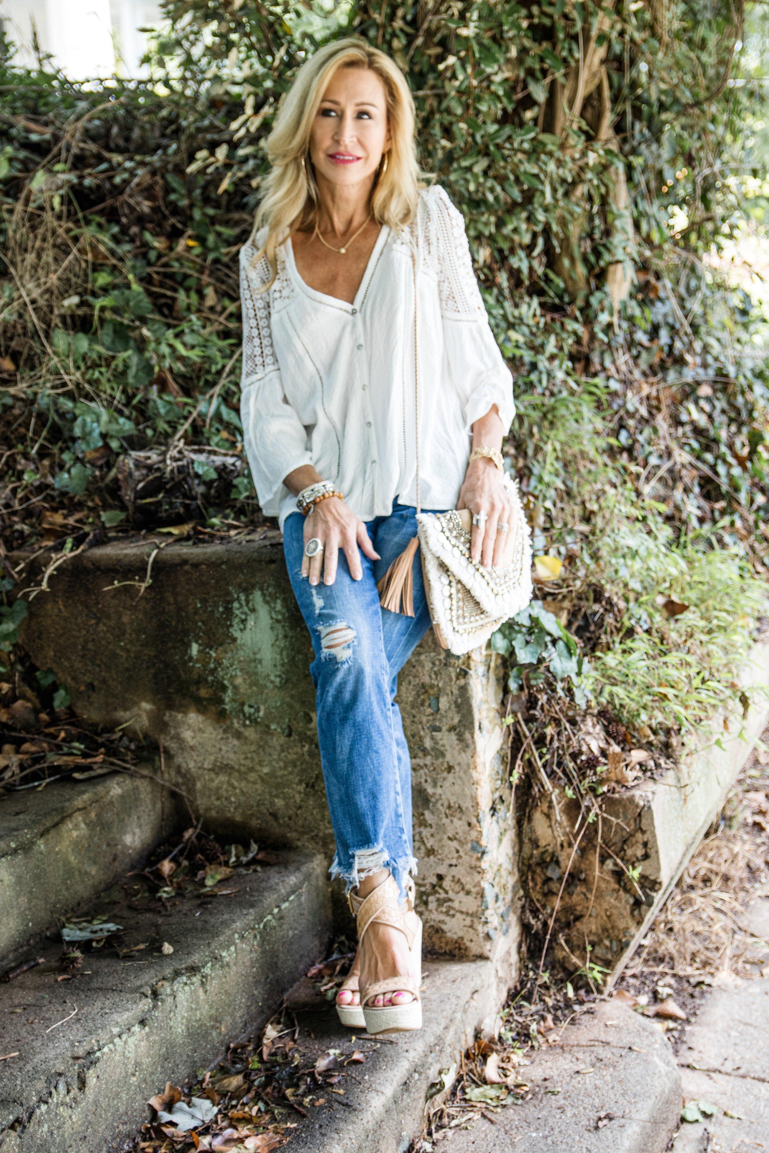 Boho Outfit Idea - Crazy Blonde Life