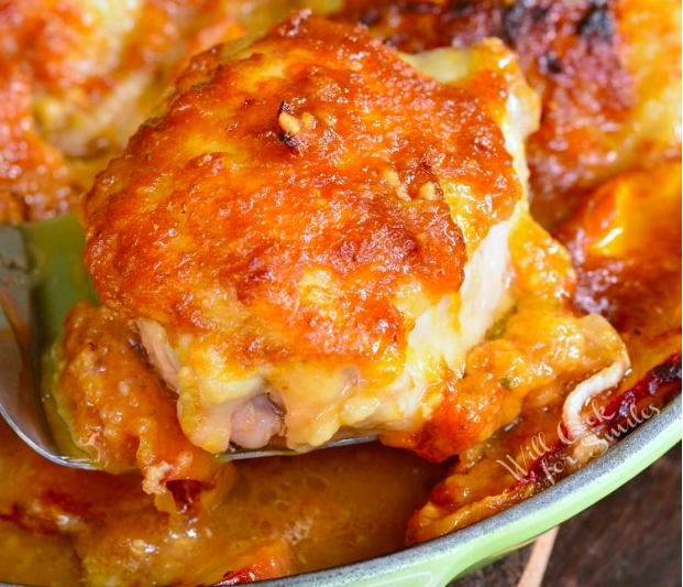 Baked Ginger Peach Chicken from Will Cook for Smiles