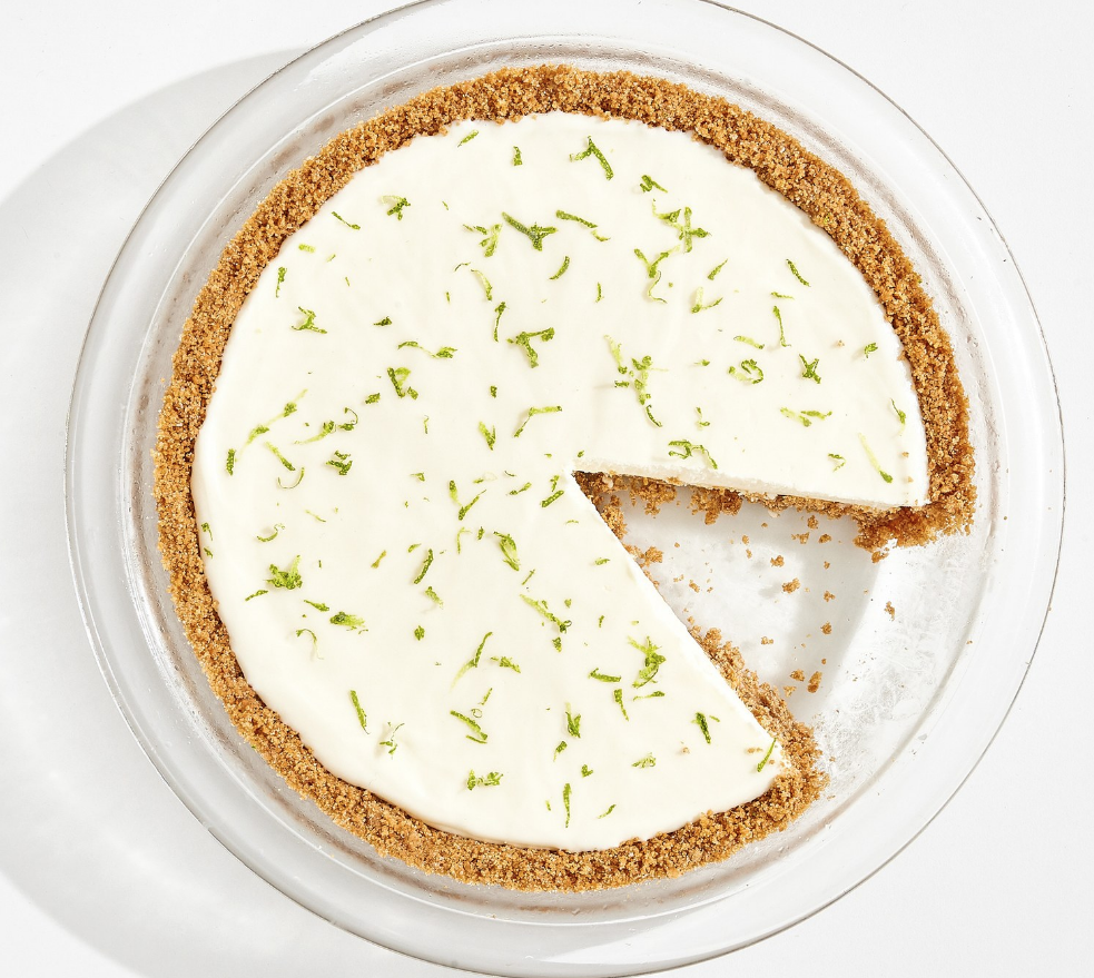 Frozen Margarita Pie via Bon Appetit