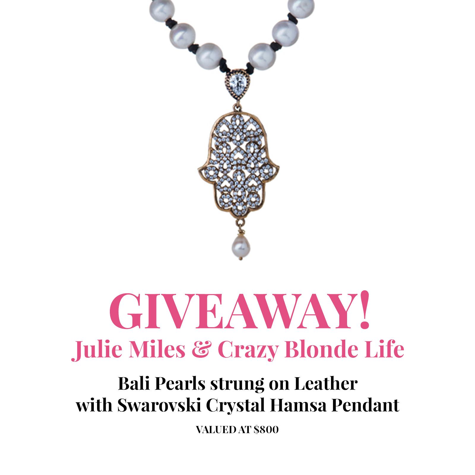 Julie Miles Giveaway
