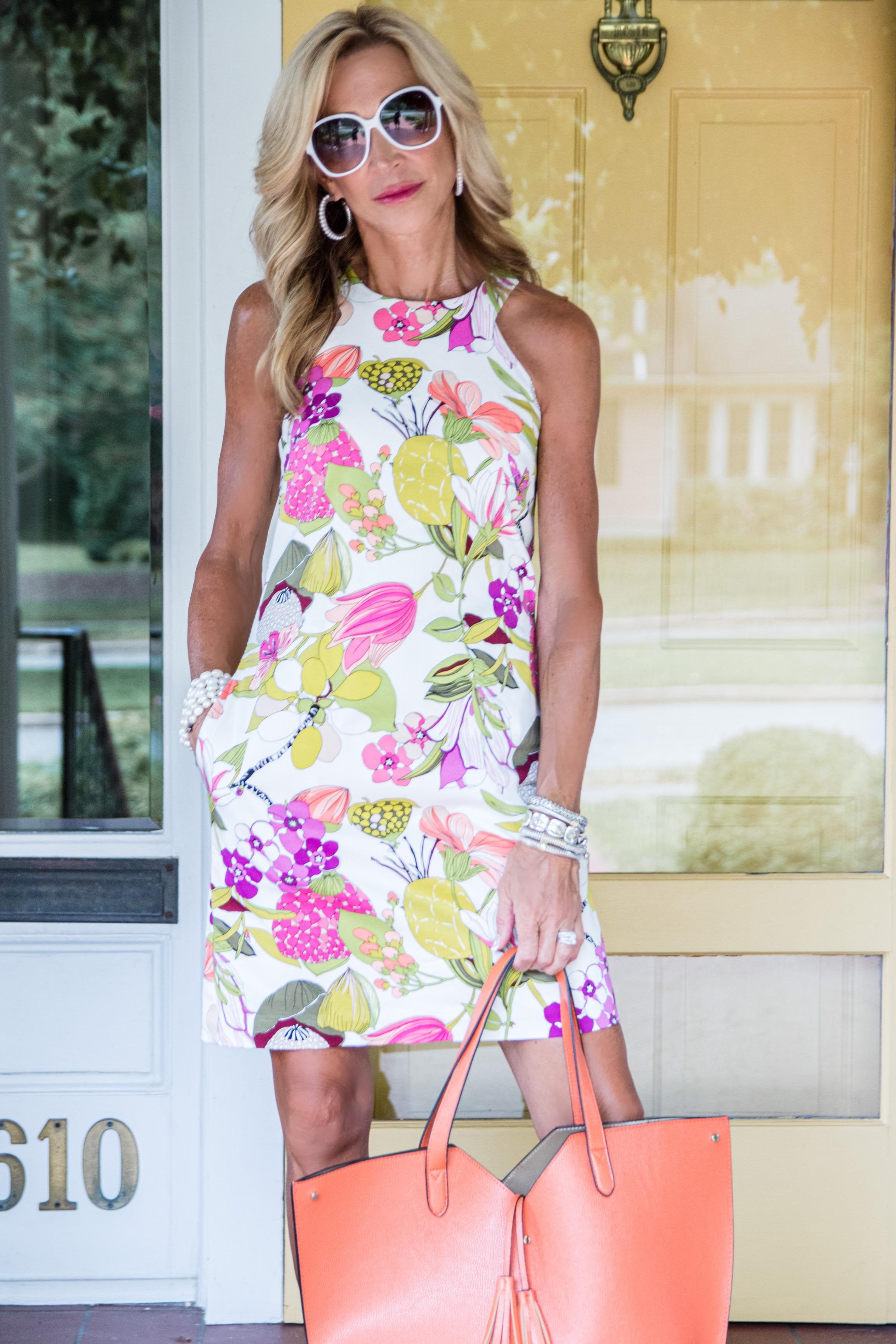 Trina Turk Summer Dress - Crazy Blonde Life