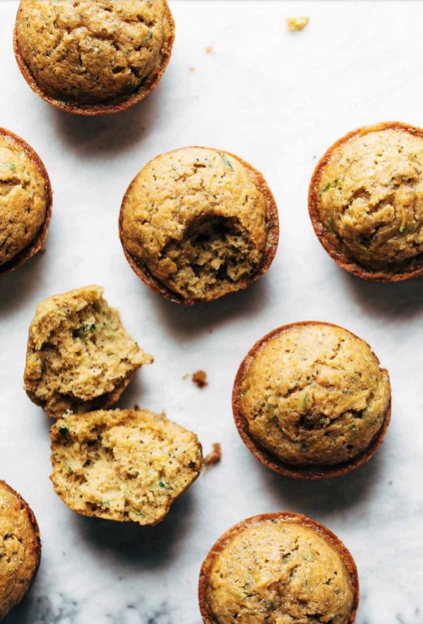 Lemon Poppyseed Muffins via Pinch of Yum