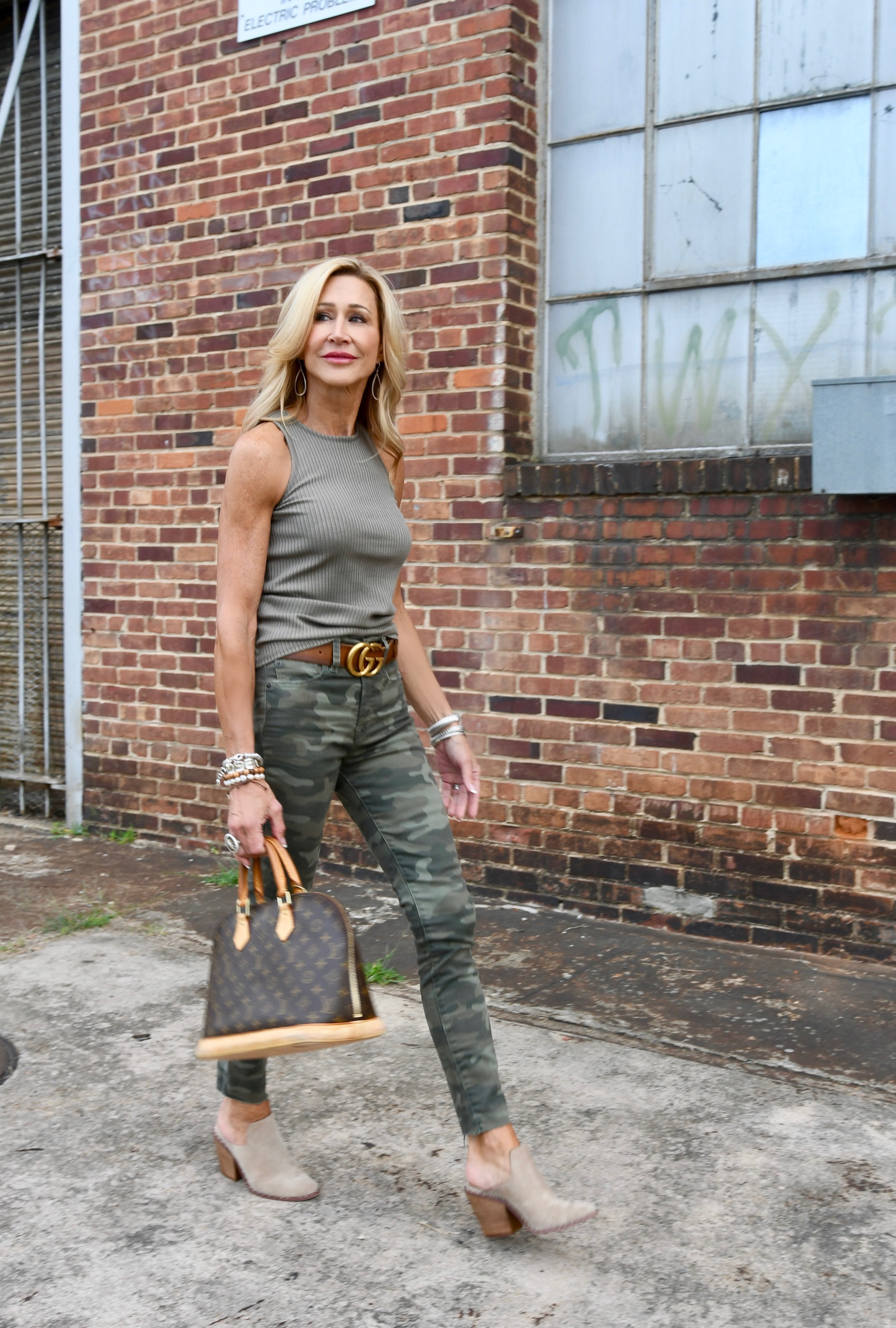 Styling Camo Pants - Crazy Blonde Style