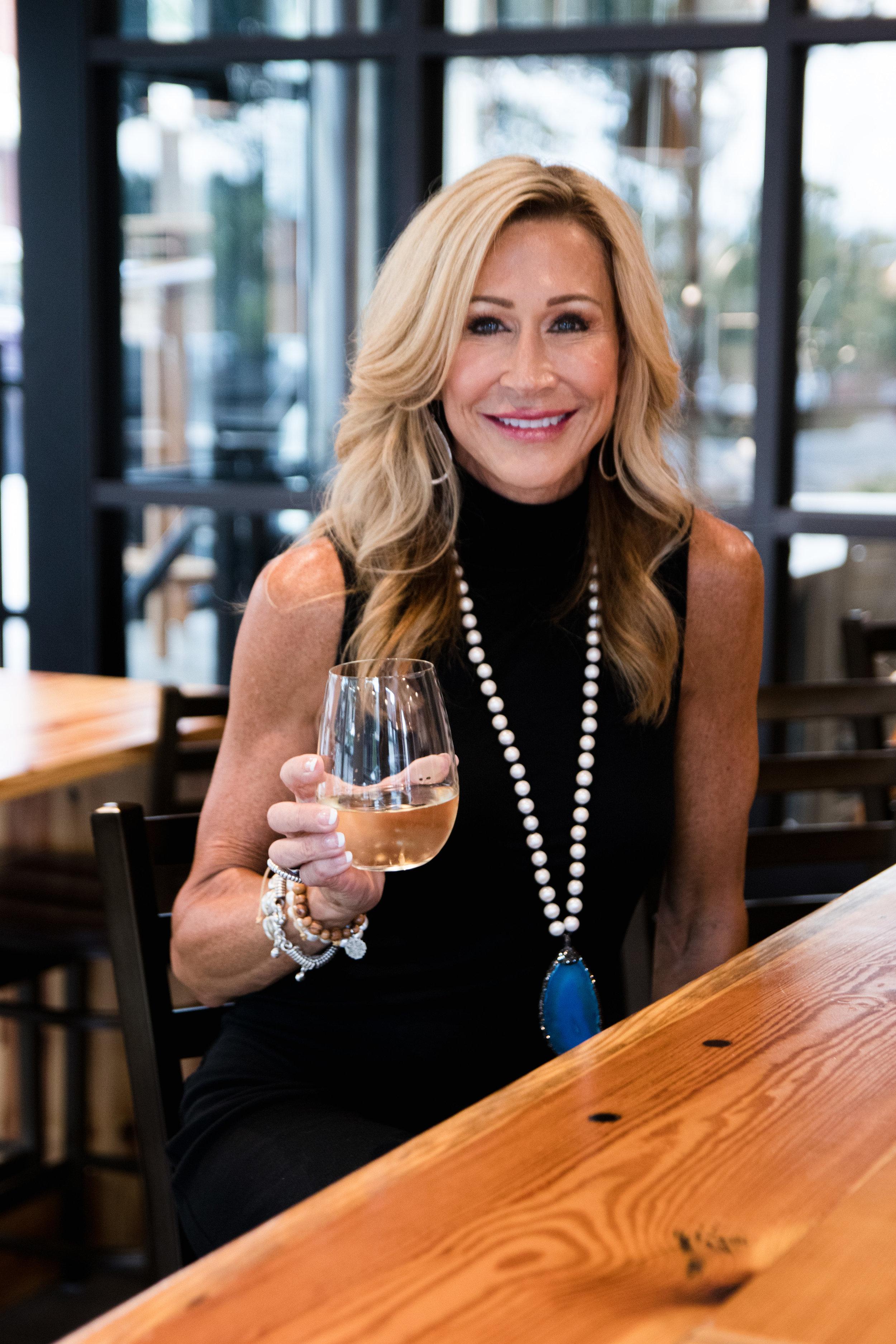 Black Target dress with Julie Miles necklace - Crazy Blonde Life