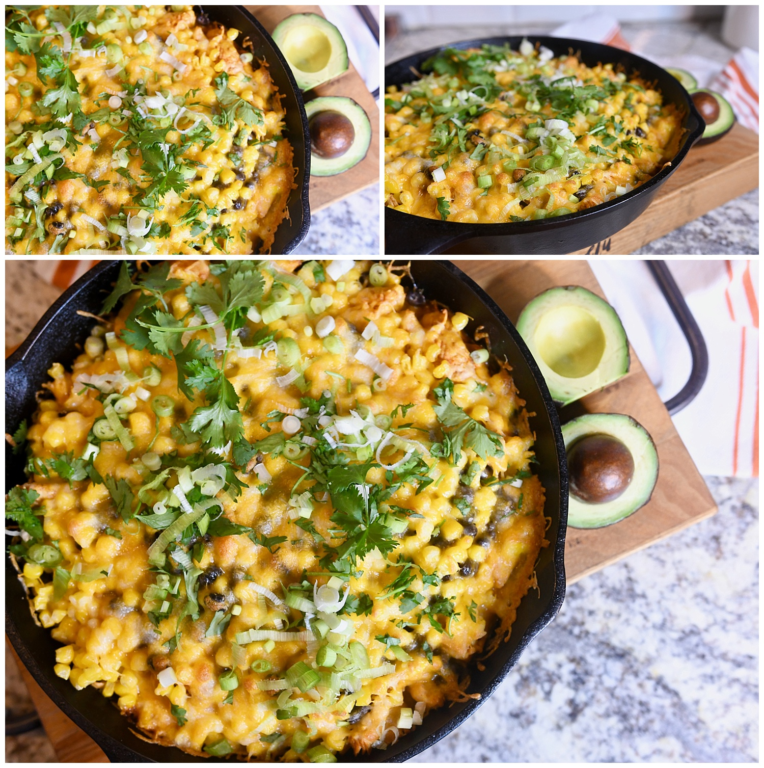 Chipotle Chicken Enchilada Bake