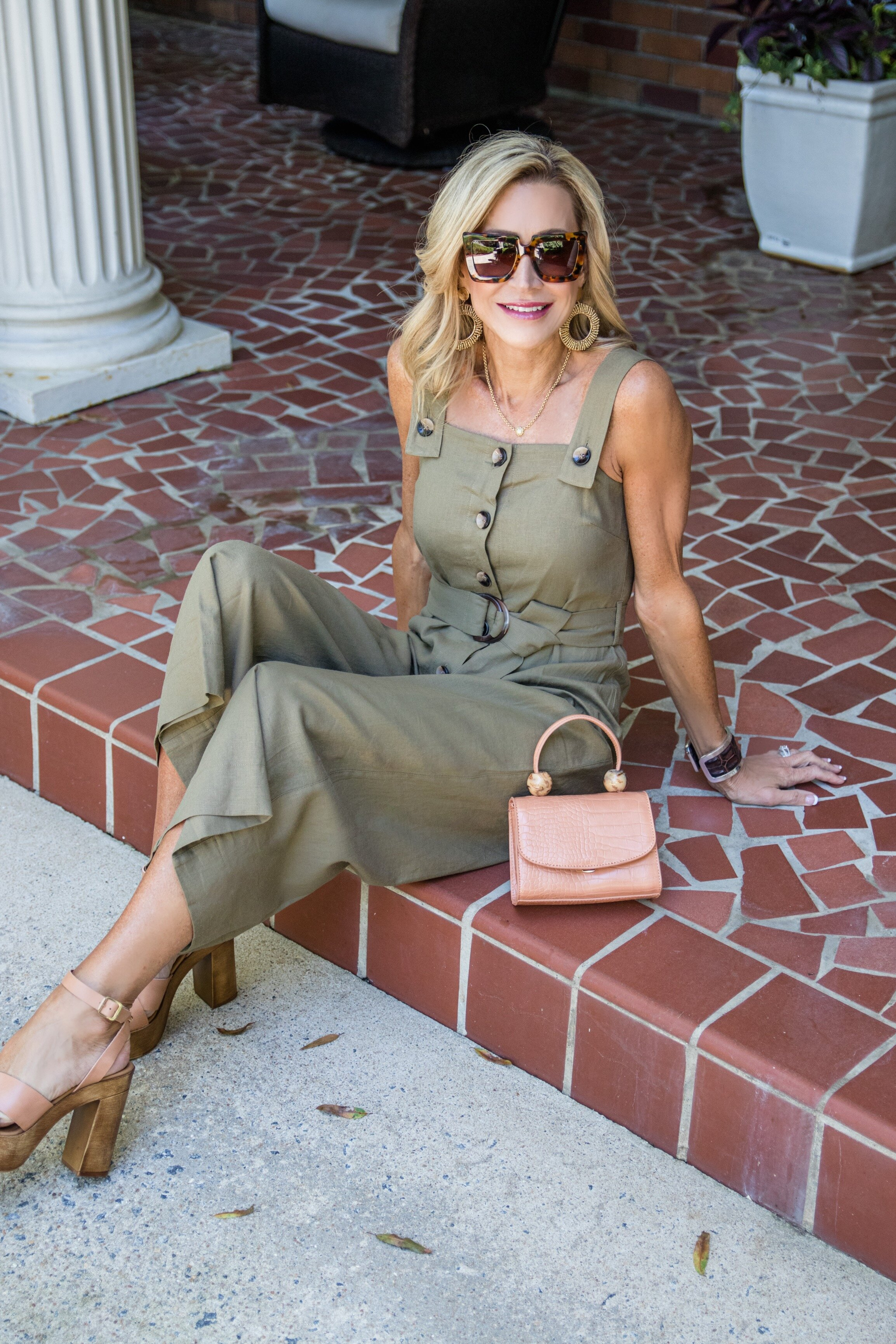 Fall Jumpsuit - Crazy Blonde Life