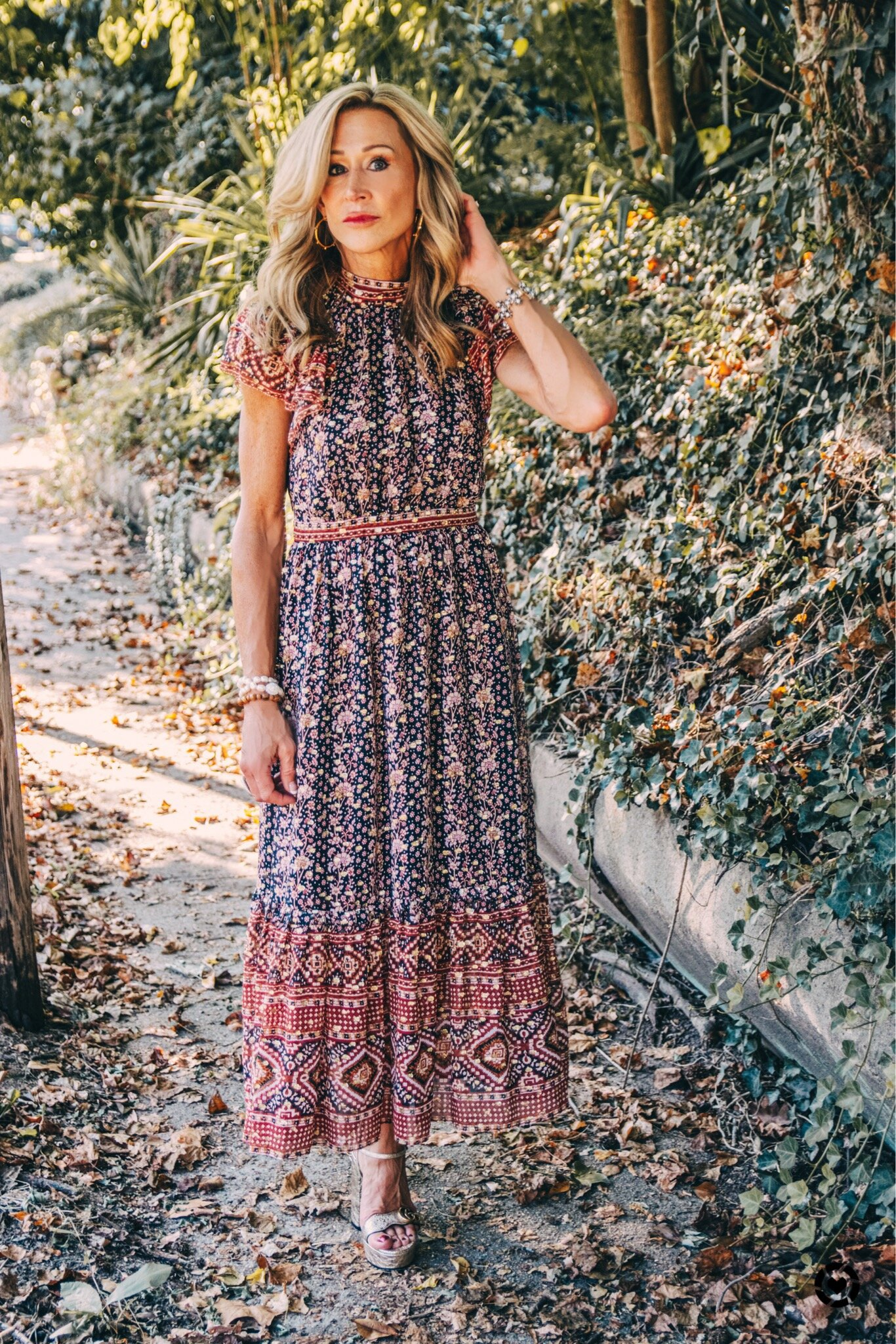 Fall Outfit - Ulla Johnson dress - Crazy Blonde Life
