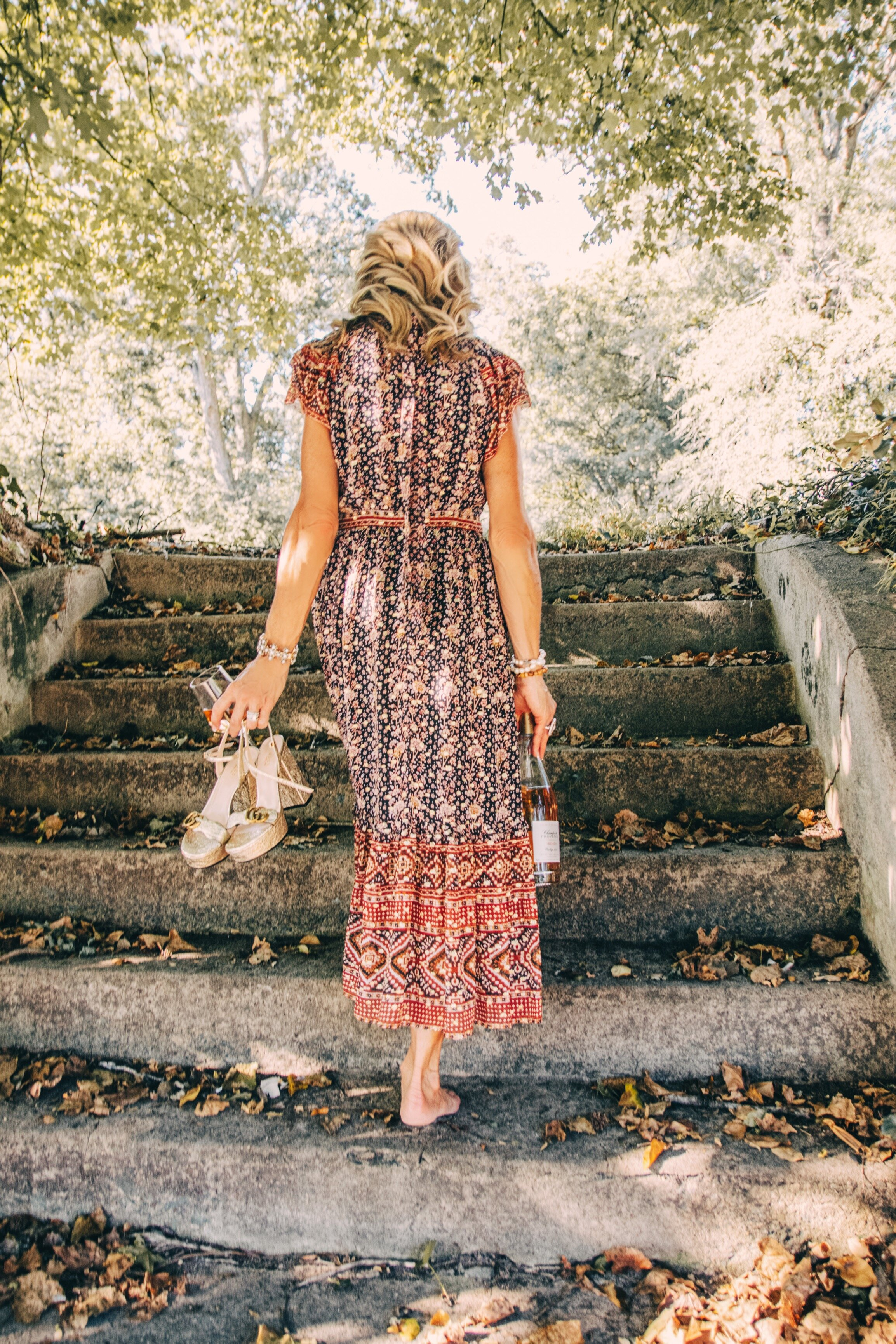 Fall Outfit idea - Ulla Johnson Dress - Crazy Blonde Life
