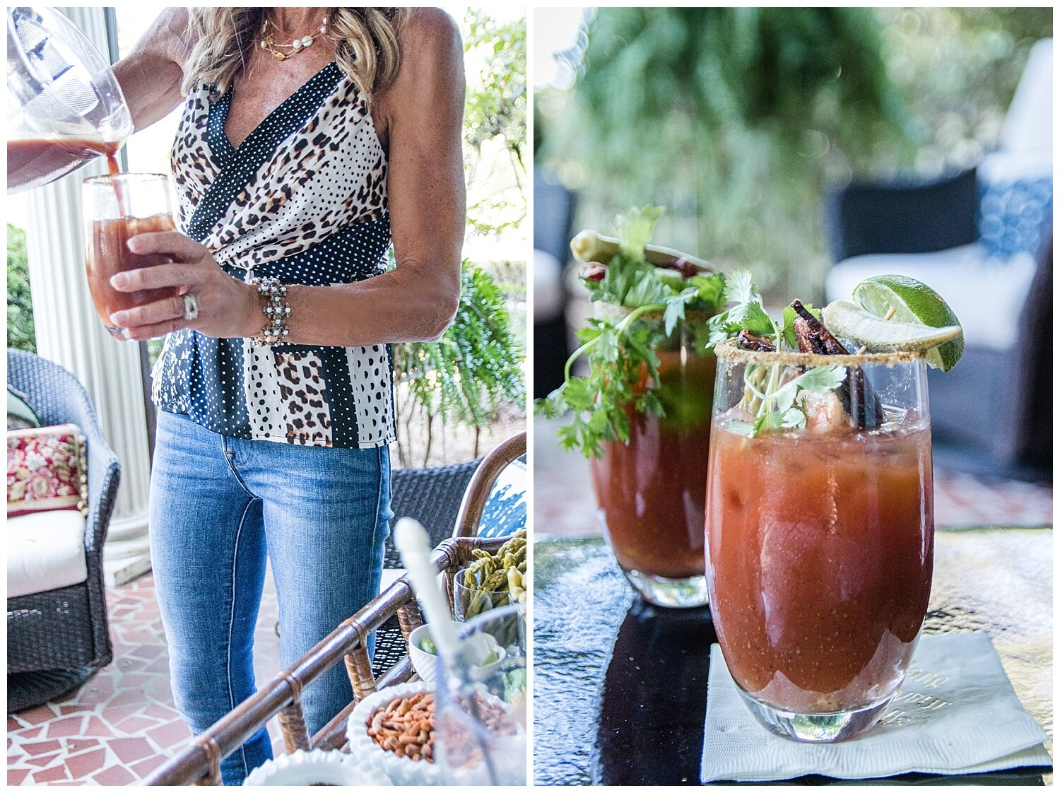 How to Make a Bloody Mary Bar - Crazy Blonde Life
