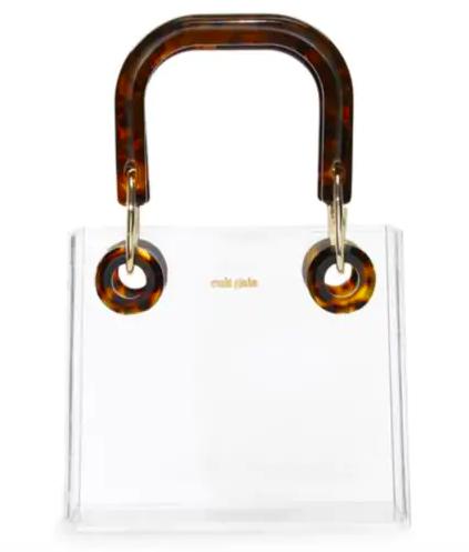Cult Gaia Acrylic Box Bag - $348