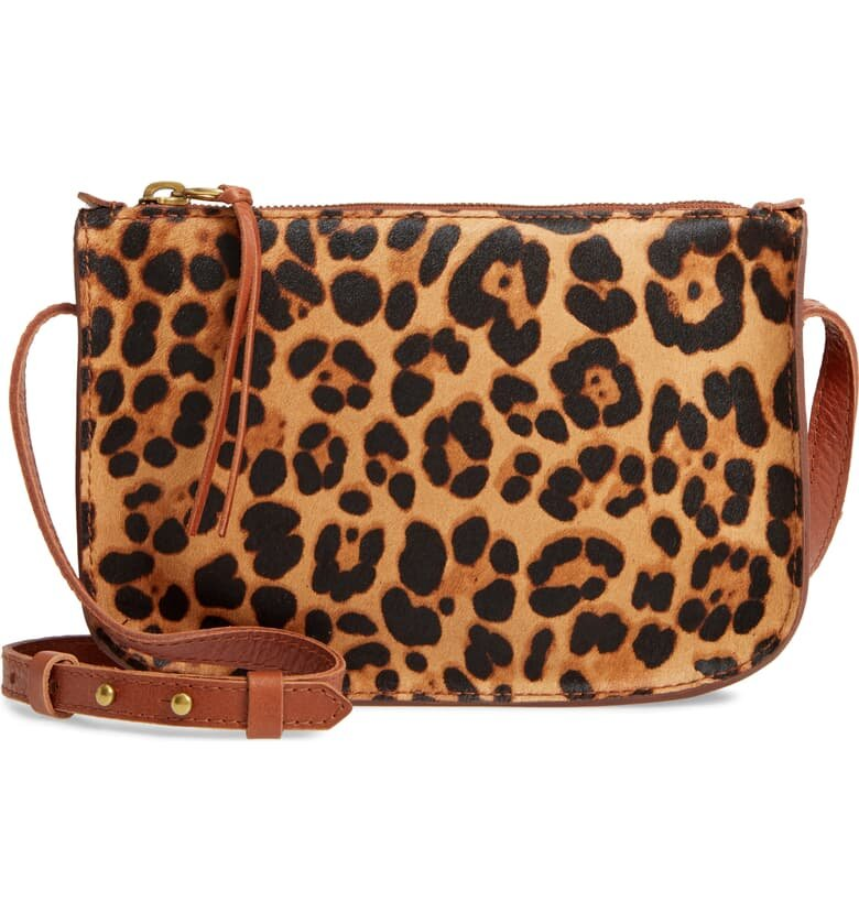 Madewell Calf Hair Crossbody Bag - $108