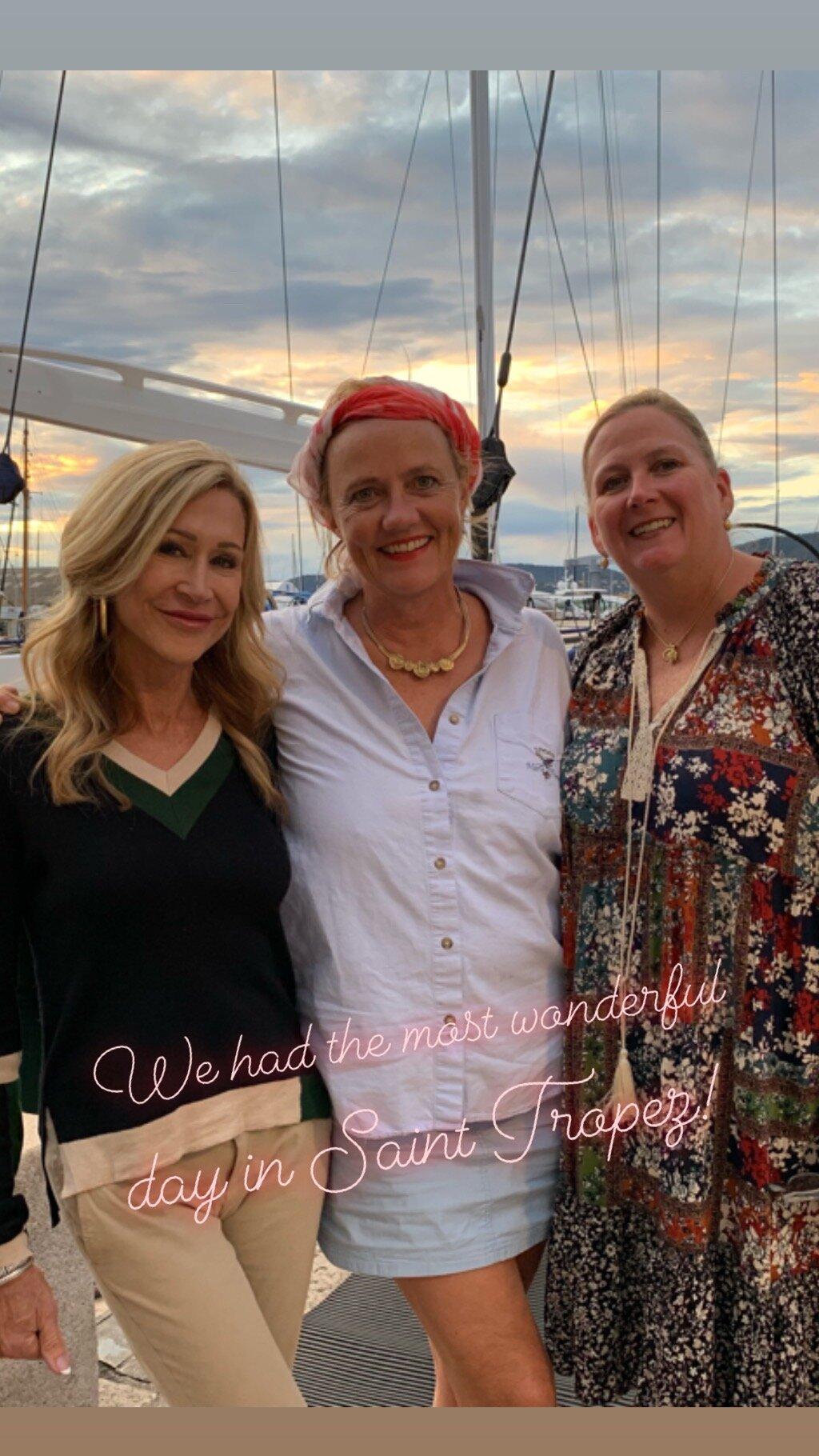 Friends in Saint-Tropez - Crazy Blonde Life
