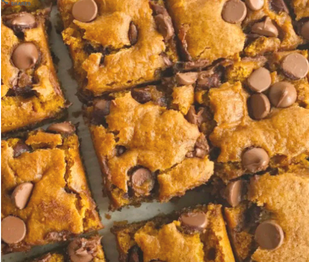 Pumpkin Chocolate Bars from Together as a Family