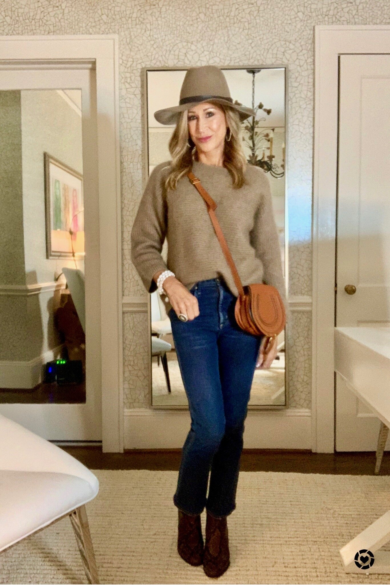 Styling a Pullover Sweater - Crazy Blonde Life