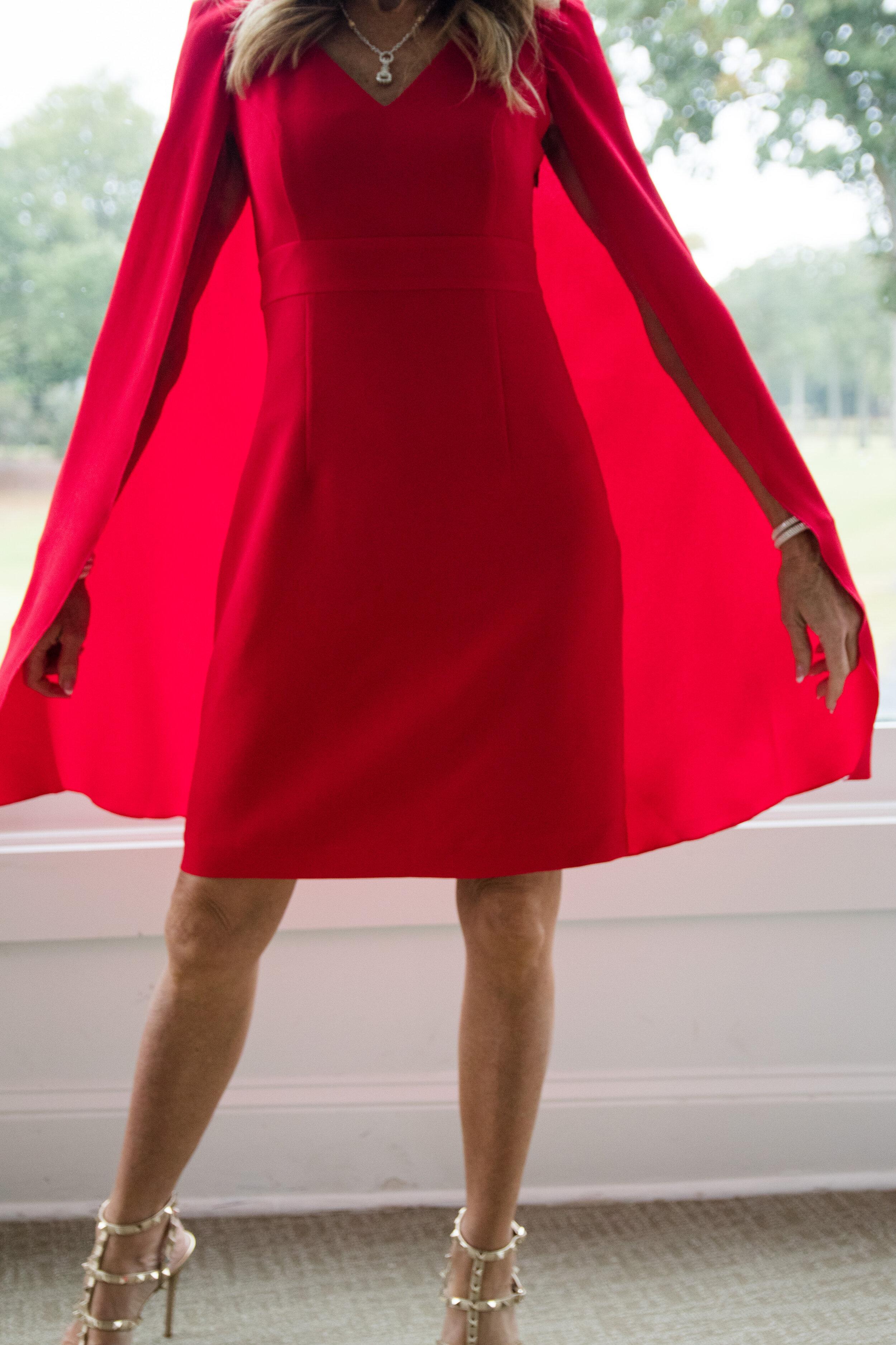 Trina Turk Holiday Dress - Crazy Blonde Life