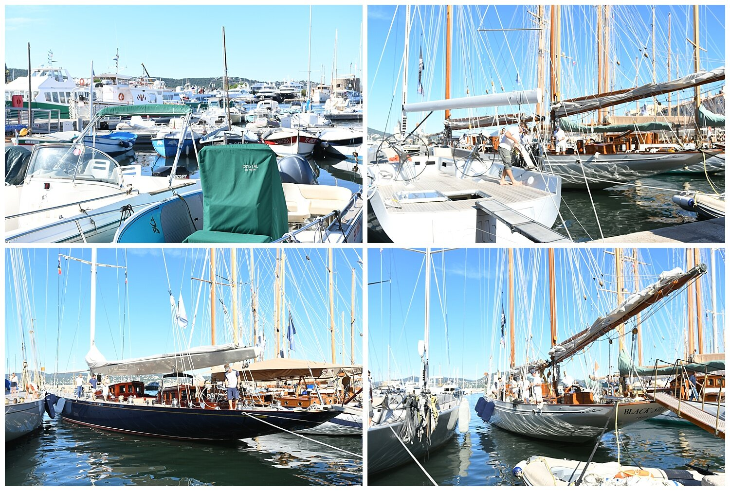 Boats in the Harbor in Saint-Tropez - Crazy Blonde Life