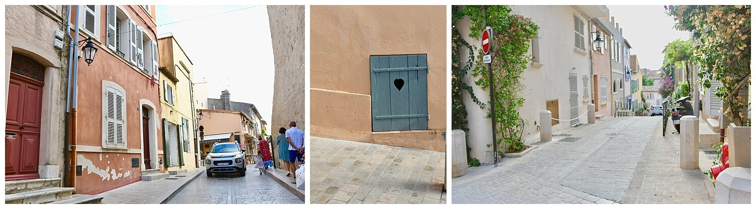 The streets of Saint-Tropez - Crazy Blonde Life