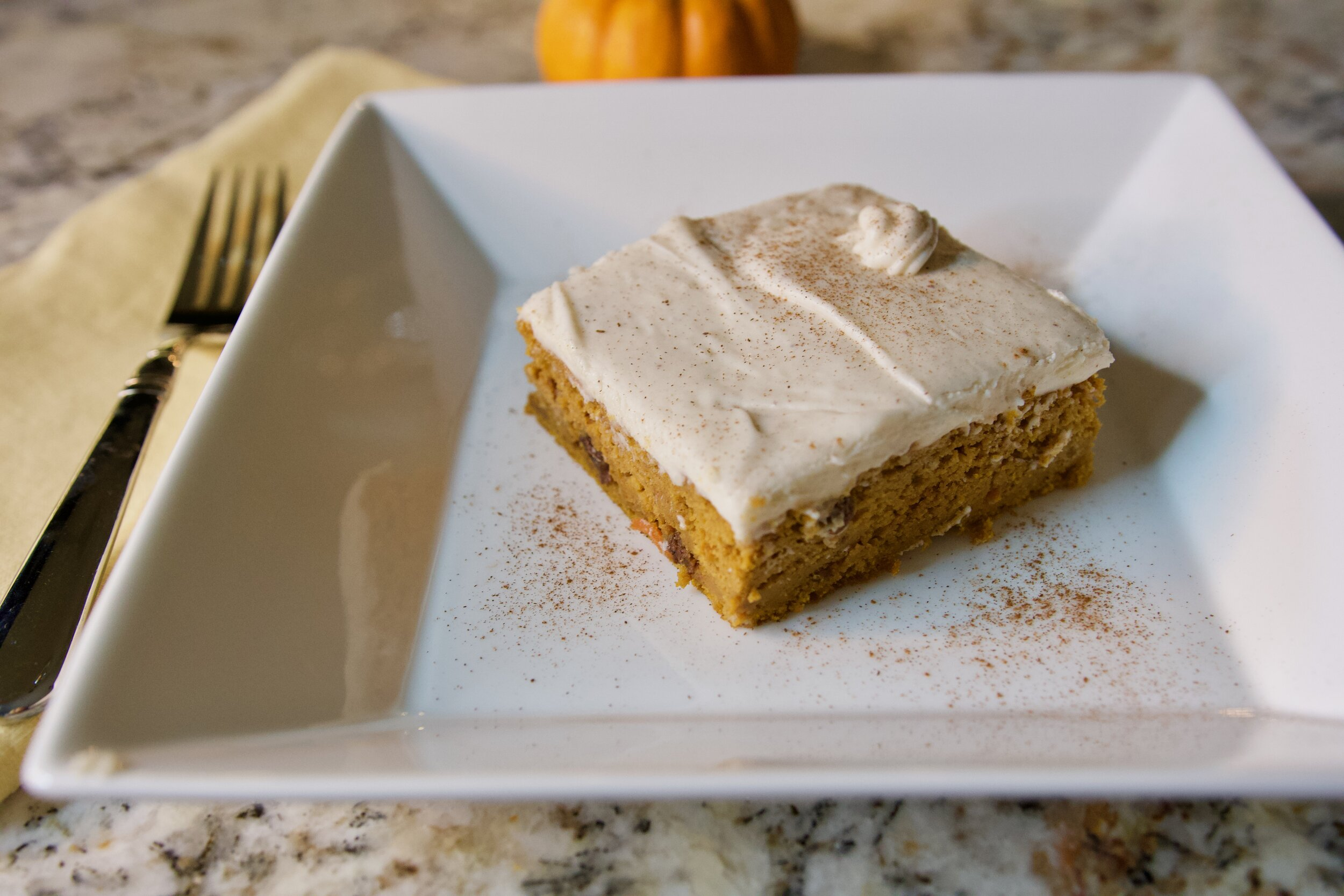 Carrot Cake with Cream Cheese Frosting - Crazy Blonde Life