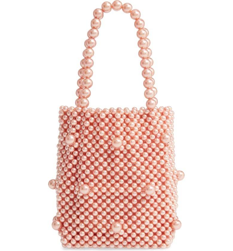 Rach Parcell Mini Beaded Bag - $119