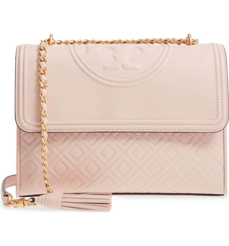 Tory Burch Quilted Convertible Shoulder Bag - $334