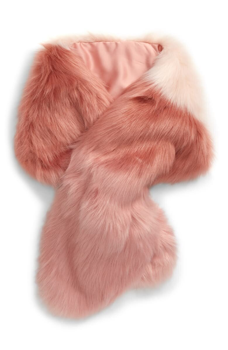 Rach Parcell Faux Fur Scarf - $79