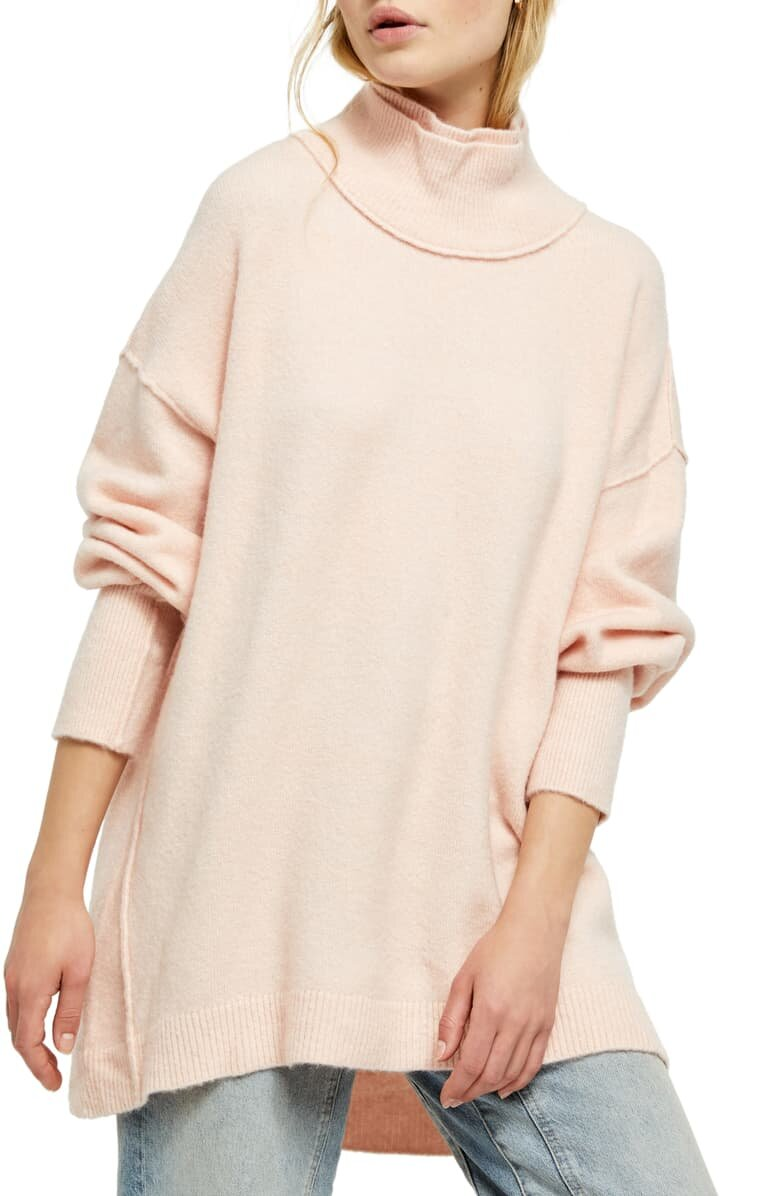 Free People Mock Neck Sweater - $128
