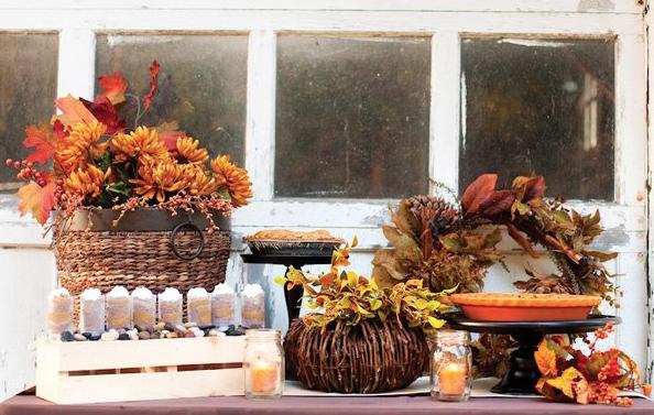 Thanksgiving Dessert Buffet - Crazy Blonde Life