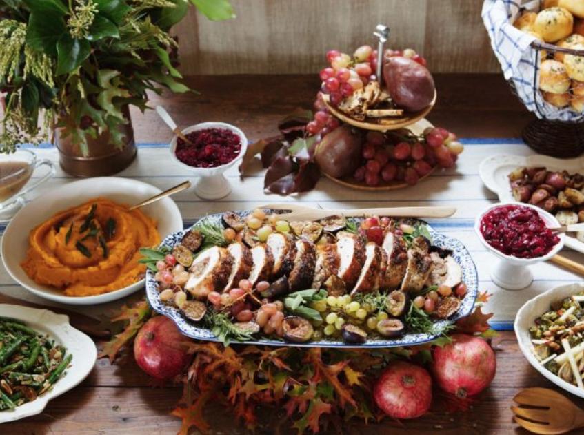 Thanksgiving Buffet Ideas - Crazy Blonde Life