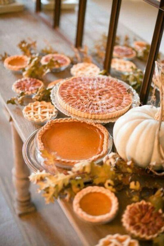 Thanksgiving Dessert Buffet Idea - Crazy Blonde Life