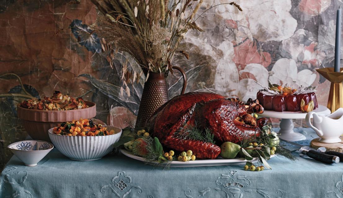 Thanksgiving Buffet Idea - Crazy Blonde Life