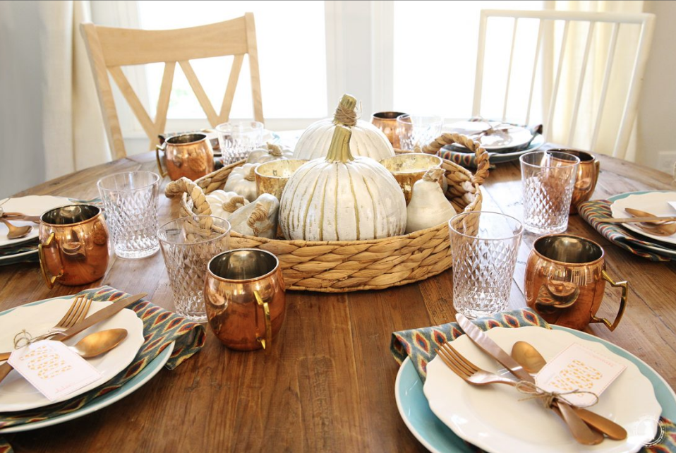 Thanksgiving Table Setting Ideas - Crazy Blonde Life