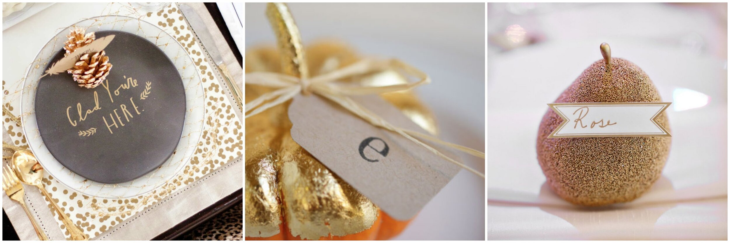 Thanksgiving Place Card Idea - Crazy Blonde Life