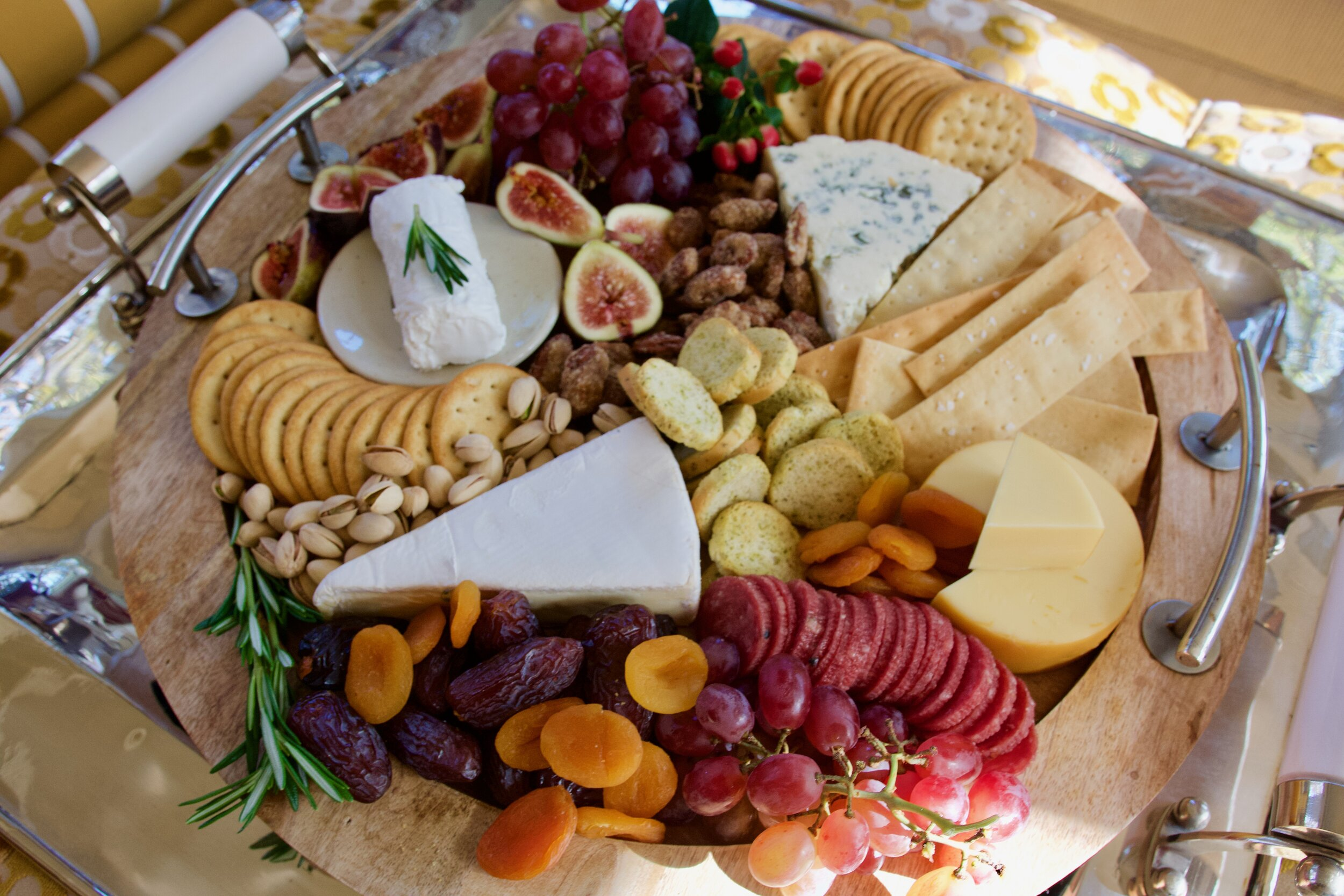 Fall Cheese Platter - Crazy Blonde Life