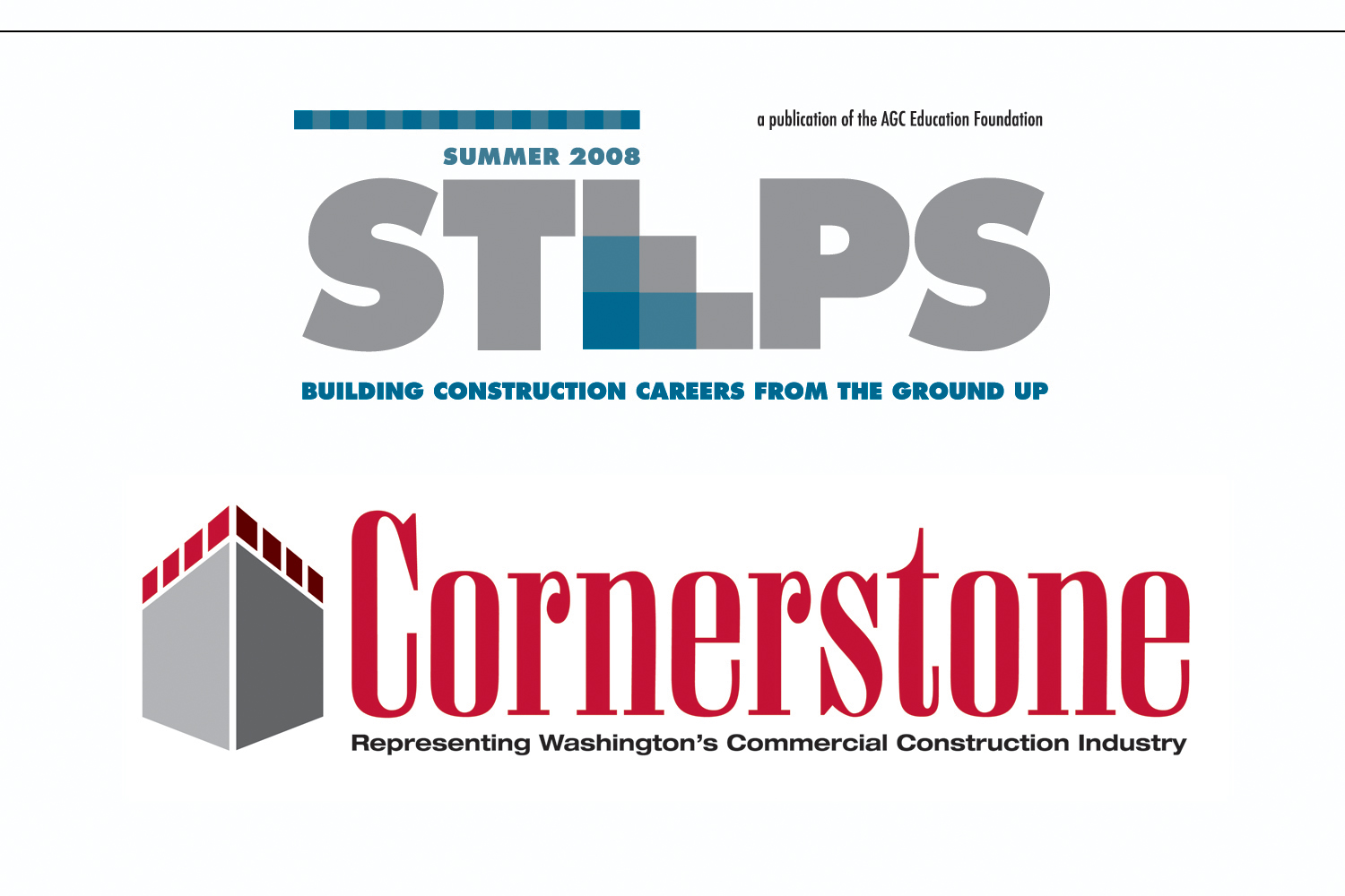 Publication Title,   AGC Educational Foundation  and  Magazine Brand Refresh,   Washington Commercial Construction Industry