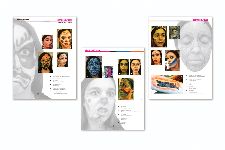 Portfolio Samples,   Stage production make-up