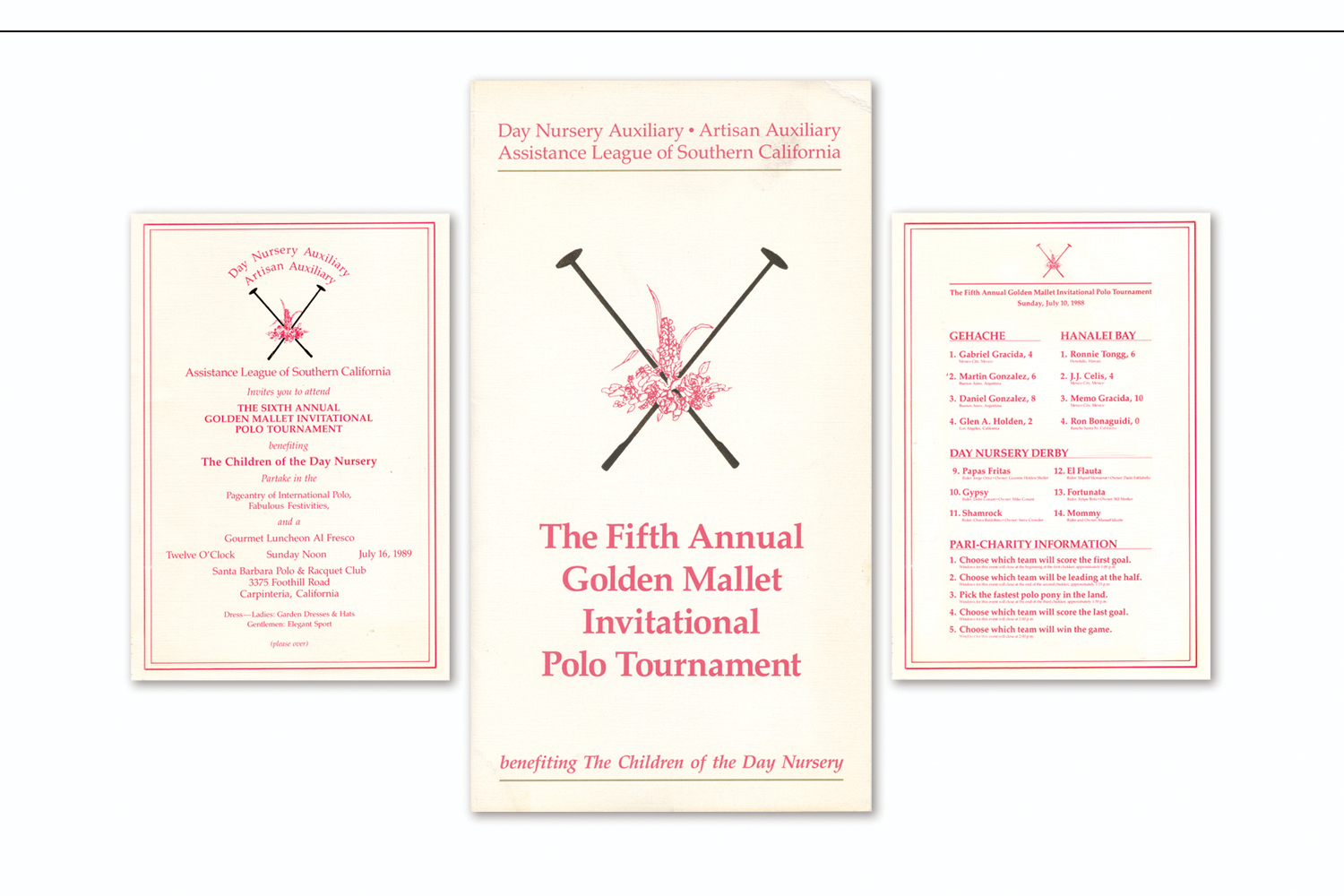 Polo Tournament   to benefit the Assistance League Day Nursery